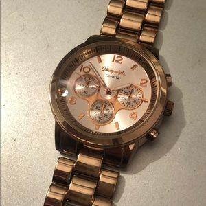 Aeropostale Rose Gold Watch